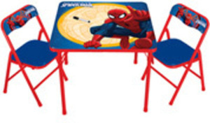 Disney Table & Chairs - Spiderman