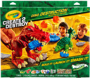 Crayola Create 2 Destroy Dino Destruction Metro Mayhem