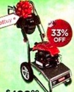 Craftsman 200PSI Gas Pressure Washer