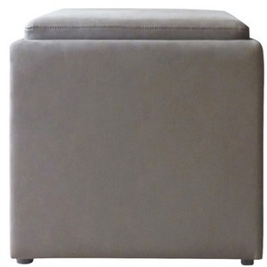 Threshold Tray-top Storage Ottoman