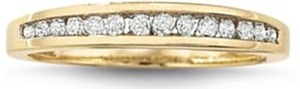 1/4 CT. T.W. Diamond Wedding Band 10K Gold