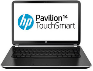 "HP Pavillion TouchSmart 14"" Laptop w/ $50+ Purchase"