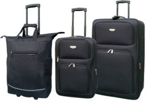 Travelers Club 3-Pc Luggage Set