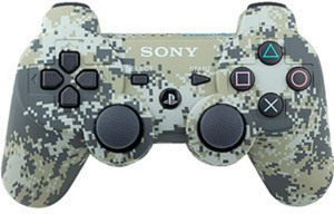 PS3 Dualshock Wireless Camo Controller