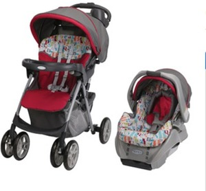 Graco Travel System (Stroller and Infant Car Seat)