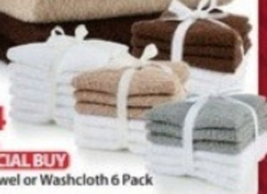 Washcloth 6 Pack