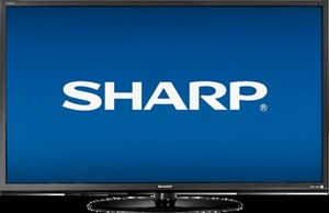"Sharp Aqous 60"" LC-60LE450U 1080p LED HDTV"