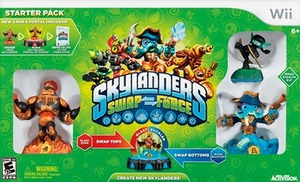 Skylanders: SWAP Force Starter Pack (Wii)