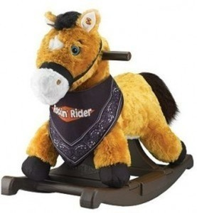 Rockin' Rider Pony - Brown