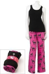 So Plush Pants & Tank Top Pajama Set