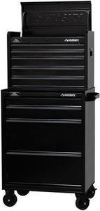"Husky 26"" 9-Drawer Tool Chest Combo + Free 2-Drawer Riser"