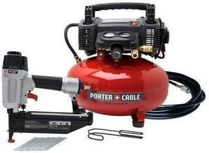 Porter Cable 6Gallon Compressor and Nailer Combo kit