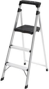 Easy Reach by Gorilla Ladders Aluminum 3-Step Ultra-Light Step Stool