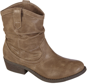 Trend Report Women's Ankle-Length Taupe Fashion Bootie