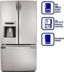 Kenmore Elite  31.0 cu. ft. French Door Bottom-Freezer Refrigerator