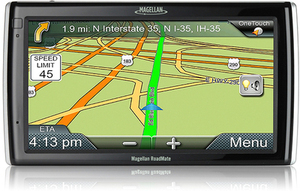"Magellan 9200-LM GPS w/ 7"" Screen + Free Lifetime Map Updates"