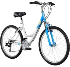 Diamondback Women's Serene Citi Classic Suspension Comfort Bike 2014