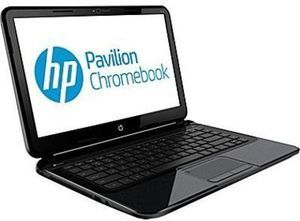 "HP 14"" Chromebook w/ Intel Celeron CPU"