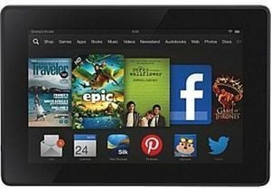 "Kindle Fire HD 7"" 8GB Tablet, Wifi + Staples Gift Card"