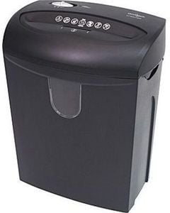 Omnitech 12-Sheet Cross-Cut Shredder After Rebate