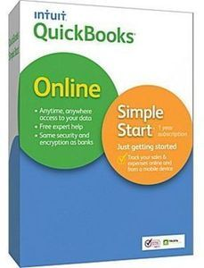 QuickBooks Online Simple Start 2014 After Rebate