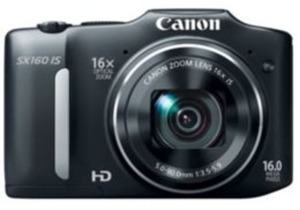 Canon PowerShot 16MP Camera with 16X Optical Zoom