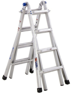 Werner 17-ft. Aluminum Multi-Position Ladder