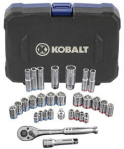 Kobalt 30PC Standard & Metric Mechanic's Tool Set