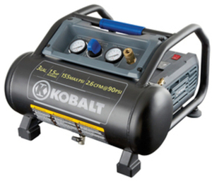 Kobalt 1.5-HP 3-Gallon 155-PSI Electric Air Compressor