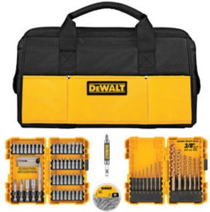 DEWALT 80-Piece Impact Screwdriver Bit Set