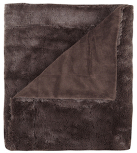 "214 West 50""x60"" Throw - Brown"