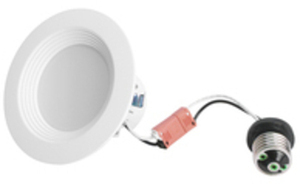 "Utilitech Pro 4"" 50W LED Recessed Light"