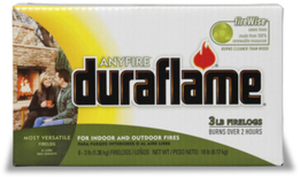 Duraflame 6-Pack Anyfire 3-lbs Natural Fire Logs