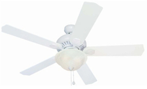 Harbor Breeze Crosswinds Oil Rubbed Bronze Indoor Ceiling Fan - White