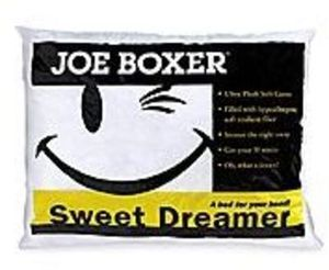 Joe Boxer Sweet Dreamer Ultra Plush Bed Pillow