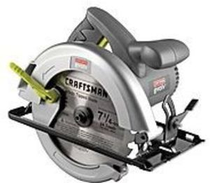 Select Craftsman Circular Saw or Reciprocating Saw