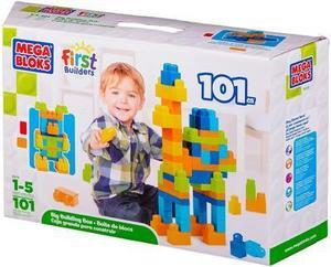 Mega Bliks 101 Piece First Builder Lots of Blocks