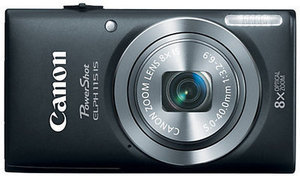 Canon PowerShot ELPH 115 IS Digital Camera + Free 8GB Memory Card