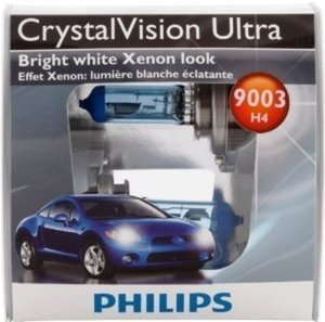 Philips Crystal Vision Ultra Twin Pack Headlamps