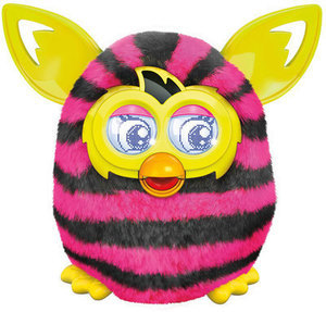 Furby Boom - Black & Pink Stripes