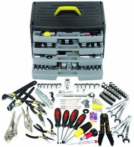 Pittsburgh 105 Piece Tool Kit w/ 4 Drawer Chest