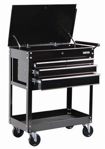 US General 26 in. 4 Drawer Tool Cart