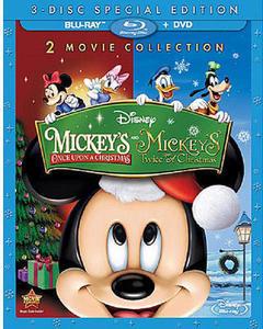 Mickey's Once Upon A Christmas/Mickey's Twice Upon A Christmas  Blu-Ray