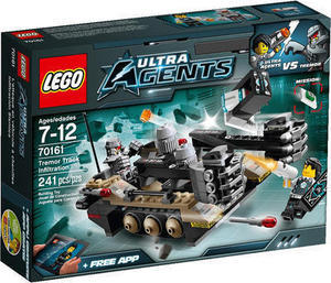 Lego Ultra Agents Tremor Track Infiltration