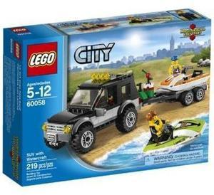 LEGO City Great Vehicles SUV with Watercraft