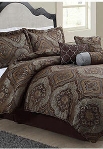 Entire Stock of King or Queen Monroe 7-Piece Comforter Sets