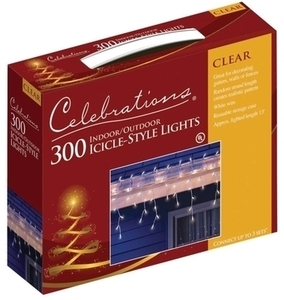 300ct Mini Icicle Light Set