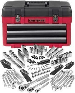 Craftsman  182pc Mechanics Tool Set with 3-Drawer Chest