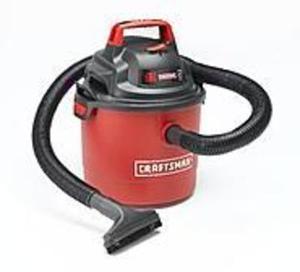 Craftsman Portable 2.5 Gallon 2 Peak HP Wall Mount Wet/Dry Vac