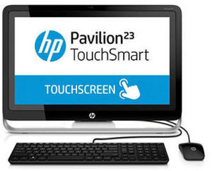"HP Pavilion 23"" All-in-One Touch Desktop"